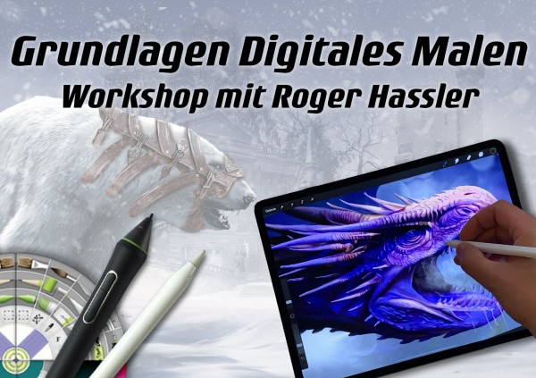 Digital Painting für Einsteiger 29 & 30. August 2020