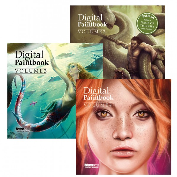 Digital Paintbook-Set Vol. 2-4