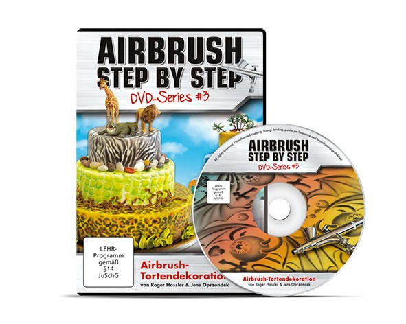 ASBS DVD Series #3 – Airbrush-Tortendekoration