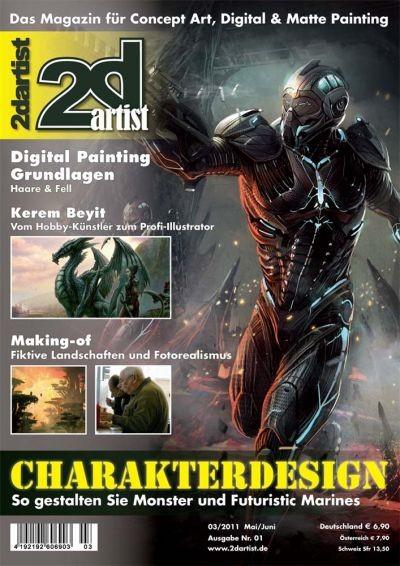 2DArtist 03/11 Nr. 1 E-Book