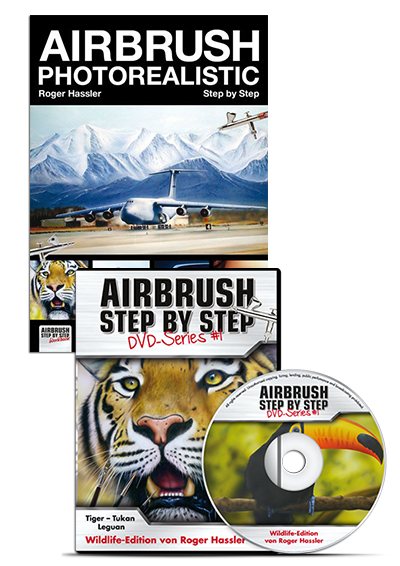 Photorealistic Set: Buch Airbrush Photorealistic + ASBS DVD #1
