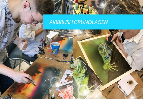 Airbrush Wochenendkurs, 07. & 08.09.2019, in Hamburg