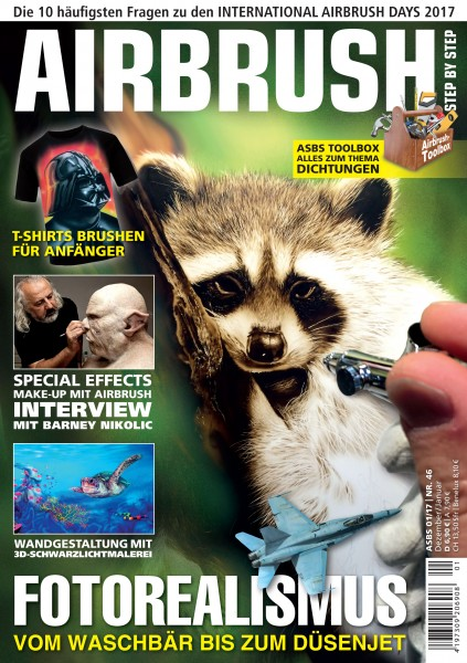 ASbS Magazin für Airbrush, Custompainting und Illustration