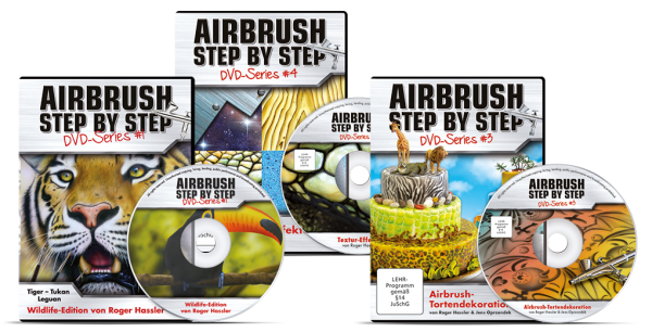 Airbrush Step by Step DVD Series: Airbrush-Bundle