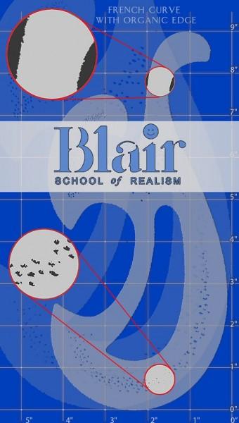 Blair Stencil - French Curve Organic Edge