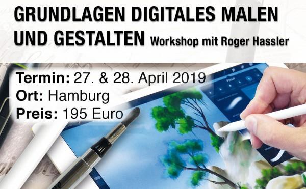 Digital Painting für Einsteiger 27. & 28.04.19