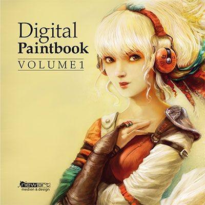 Digital Paintbook Volume 1 (Mängelexemplar)