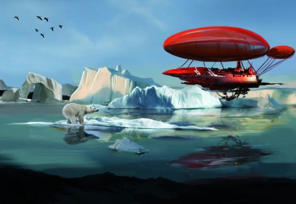 Eisbär Concept Art