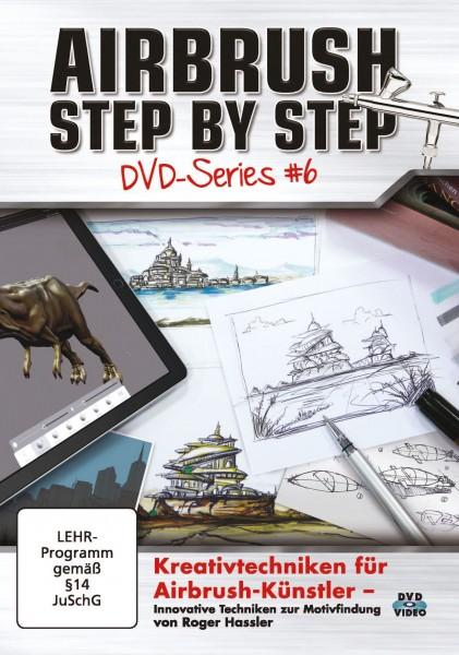 ASBS DVD-Series #6 – Kreativtechniken für Airbrush-Künstler