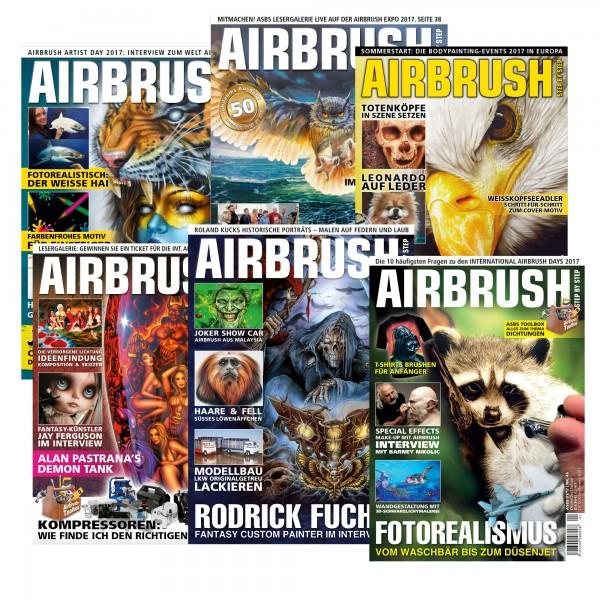 Airbrush Step by Step Jahressatz 2017